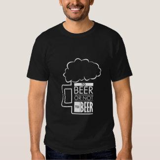 To Beer 01 • Basic Dark T-Shirt