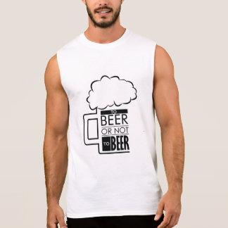 To Beer 01 • Men s Ultra Cotton Sleeveless T-Shirt