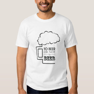 To Beer 02 • Basic T-Shirt