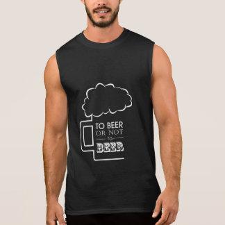 To Beer 02 • Men's Ultra Cotton Sleeveless T-Shirt