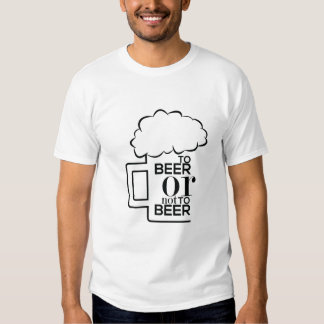 To Beer 03 • Basic T-Shirt