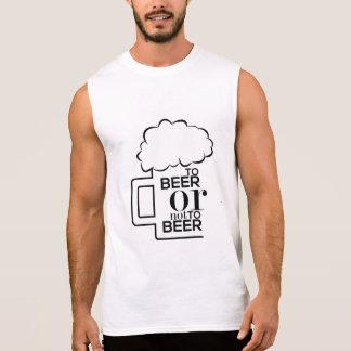 To Beer 03 • Men s Ultra Cotton Sleeveless T-Shirt