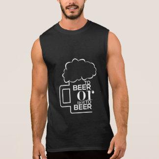 To Beer 03 • Men's Ultra Cotton Sleeveless T-Shirt
