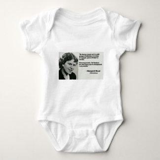 To change the world baby bodysuit