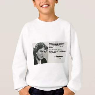 To change the world sweatshirt