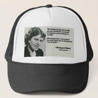 To change the world trucker hat