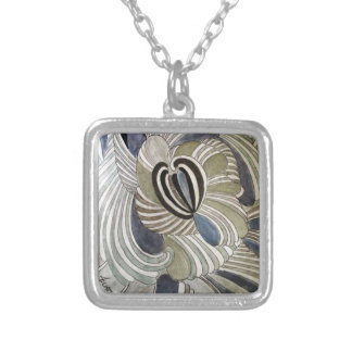 TO DAWN 1_result Silver Plated Necklace
