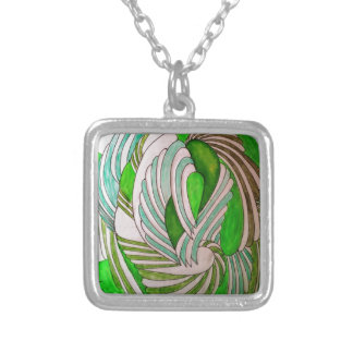 TO DAWN 4_result Silver Plated Necklace