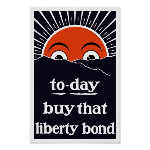To-day Buy That Liberty Bond -- WW1 Poster