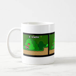 To die of bobeira basic white mug