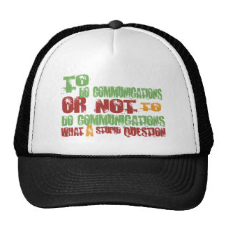 To Do Communications Mesh Hats