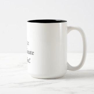 To-Do List Two-Tone Coffee Mug