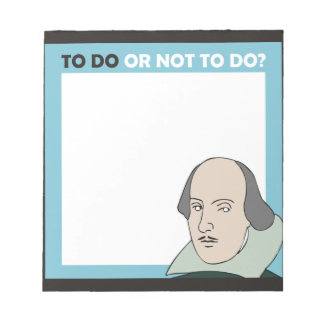 To Do or Not To Do Notepad