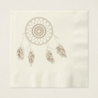 to dreamcatcher disposable napkins