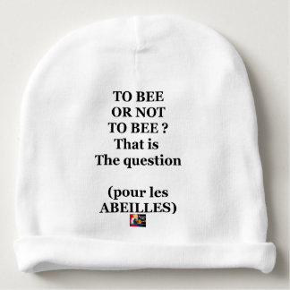 TO EEB GOLD NOT TO EEB? That is the question Baby Beanie