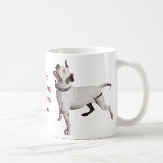 To err is human, to forgive, canine. basic white mug