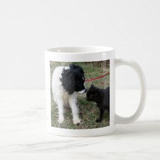 """To err is human,to forgive is canine..."" mug"