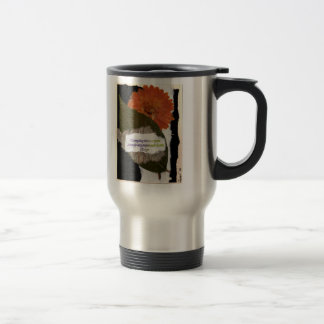 To Everything There Is A Season Stainless Steel Travel Mug