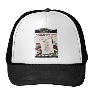 To Expectant Mothers Mesh Hat