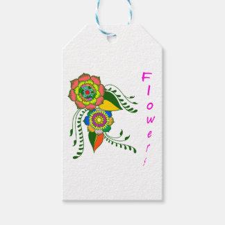 to flower mandala2 gift tags