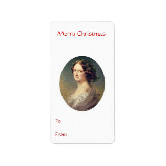 To From Merry Christmas Tag 4 Address Label