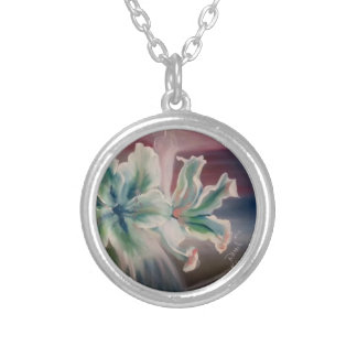 To glue and leafed pendant the law silver