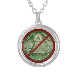 To glue Killuminati Silver Plated Necklace