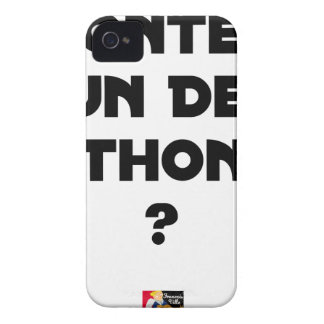 TO GO UP OF A HALF TUNA? - Word games iPhone 4 Cases