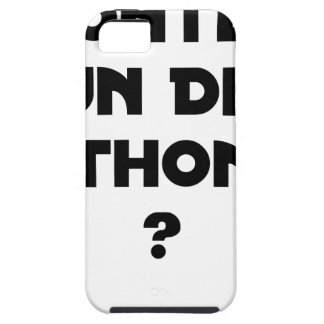 TO GO UP OF A HALF TUNA? - Word games iPhone 5 Cover