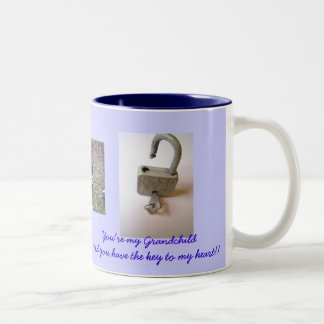 to Grandchild Two-Tone Mug