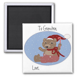 To Grandma, Love... (Personalize) Magnet
