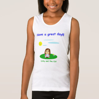 """""""To great day! """" Singlet"""