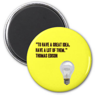To have a great idea, have a lot of them 6 cm round magnet