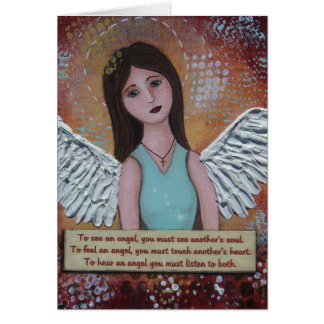 To Hear an Angel - Customized Note Card