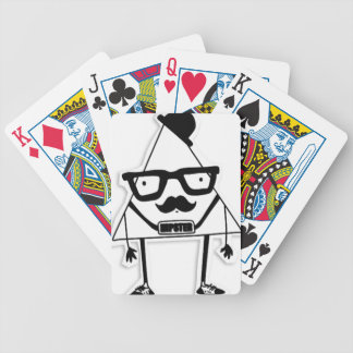 to hipster bicycle playing cards