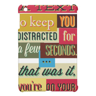 to keep you distracted great design iPad mini cover