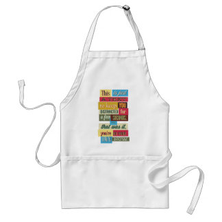 to keep you distracted great design standard apron
