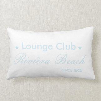 To kiss foyer club blue lumbar cushion