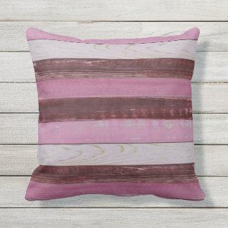 To kiss - houtprint pink blank - heidy outdoor cushion