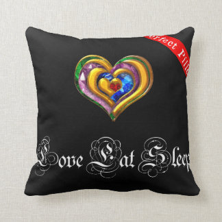 To kiss Love Eat Sleep Cushion