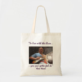 To Live With the Blues... Tote Bag