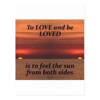 To love.jpg postcard