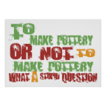 To Make Pottery Poster
