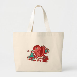 To Matter of Life-01 Large Tote Bag