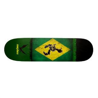 to monster bords nations 21.3 cm mini skateboard deck