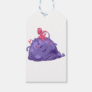to monster gift tags