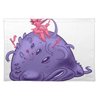to monster placemat