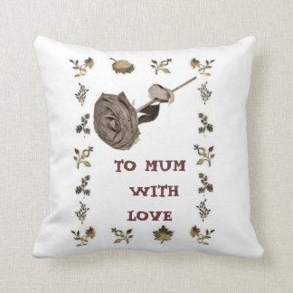 To Mum With Love Cushion