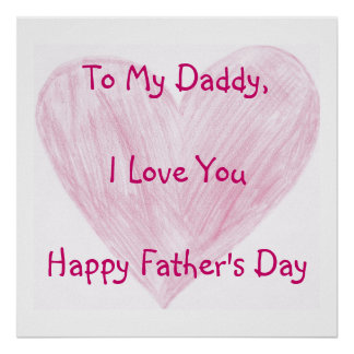 To My Daddy Posters