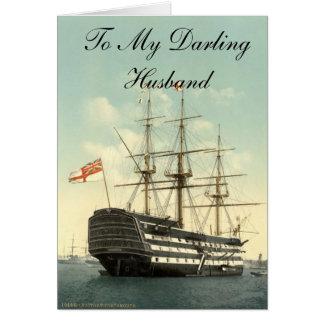 To My Darling Husband Card